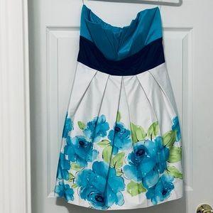 Teeze Me strapless dress